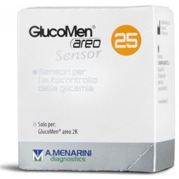 Glucomen Areo Sensor Str 25pz